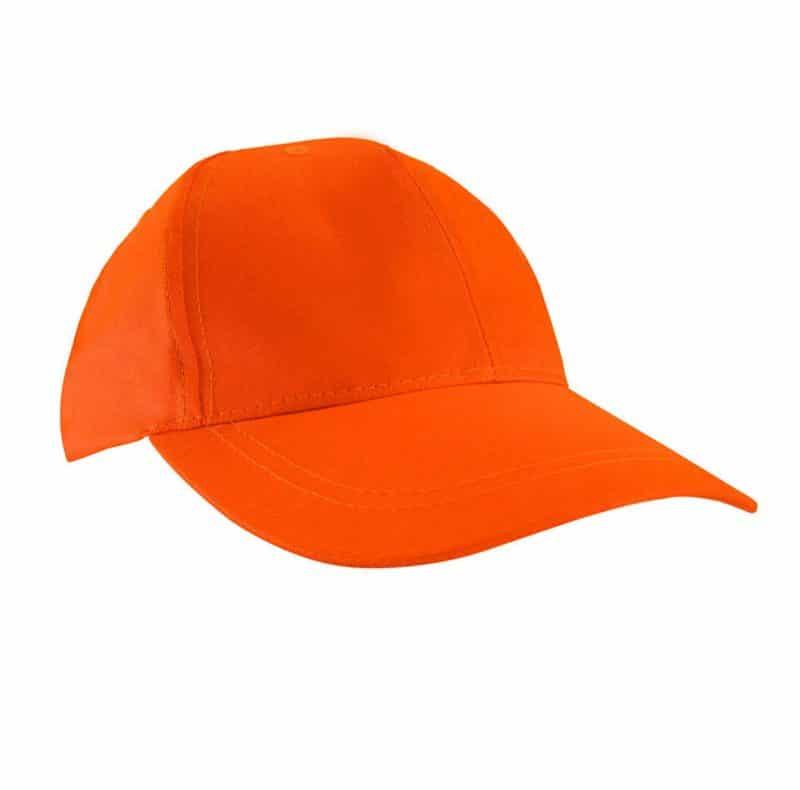 FLUORESCENT ORANGE CAP