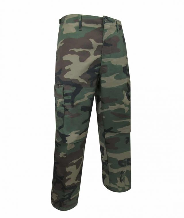 UNLINED CAMOUFLAGE PANTS