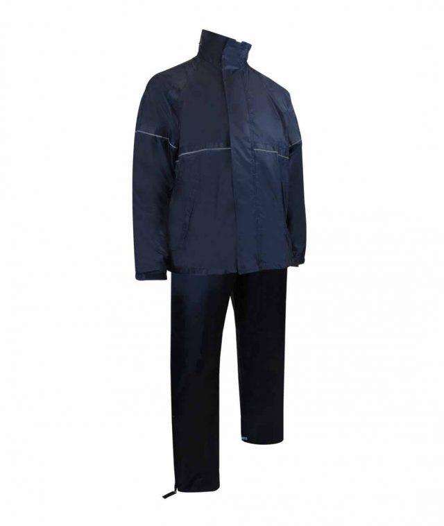 Ensemble imperméable de polyester. Manteau + pantalon.-3258