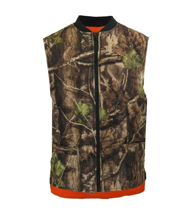 REVERSIBLE FLEECE LINED VEST