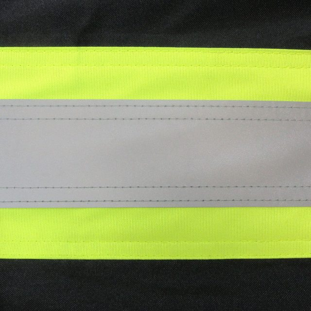 BIB PANTS WITH REFLECTIVE STRIPES